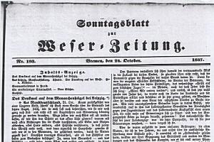 1847-10-24-Das Denkmal auf dem Monarchenhügel bei LeipzigAusschnitt