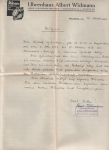 1938-10-15-ZeugnisWidmannPforzheim