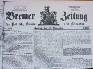 1848-11-10-DeutscheEinheitBremerZeitung