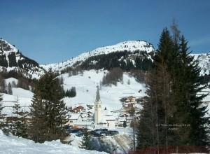 Arabba Richtung Monte Burz
